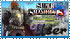 SSB Ganondorf Stamp by Knightmare-Moon