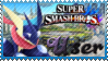 SSB Greninja Stamp by Knightmare-Moon