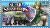 SSB Link Stamp by Knightmare-Moon