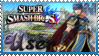 SSB Marth Stamp by Knightmare-Moon