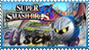 SSB Meta Knight Stamp by Knightmare-Moon