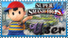 SSB Ness Stamp by Knightmare-Moon
