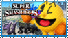 SSB Pac Man Stamp by Knightmare-Moon