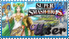 SSB Palutena Stamp by Knightmare-Moon