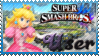 SSB Peach Stamp by Knightmare-Moon