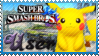 SSB Pikachu Stamp by Knightmare-Moon