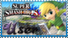SSB Toon Link Stamp by Knightmare-Moon