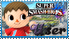 SSB Villager Stamp by Knightmare-Moon