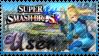 SSB Zero Suit Samus Stamp by Knightmare-Moon