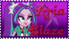 Aria Blaze Stamp V.2 by Knightmare-Moon