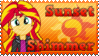 Sunset Shimmer EQ Stamp 2 by Knightmare-Moon