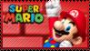 Mario Stamp - Mario by Knightmare-Moon