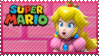 Mario Stamp - Peach by Knightmare-Moon