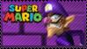 Mario Stamp - Waluigi by Knightmare-Moon