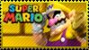 Mario Stamp - Wario by Knightmare-Moon