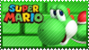 Mario Stamp - Yoshi by Knightmare-Moon
