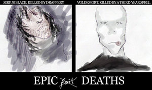 Epic Deaths by Sephira-san by HogwartsArt