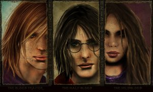 Its a matter of blood-Patilda by HogwartsArt