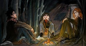 Hunting for Horcruxes by Vizen by HogwartsArt