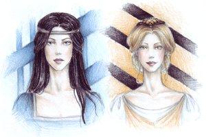 Ravenclaw+Hufflepuff by Achen by HogwartsArt