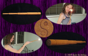 A Wand for Sheena - grammabeth by HogwartsArt