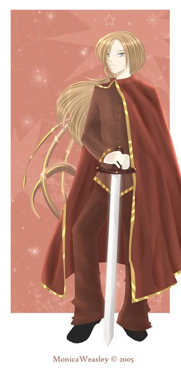 Godric Gryffindor - MonicaWeas by HogwartsArt