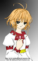 my real name is... - colored by LadyLacus18