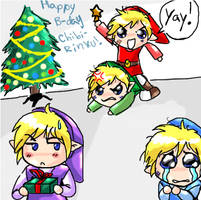 Link's Christmas feud by Marth-kun