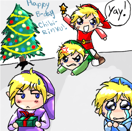 Link's Christmas feud by Marth-kun on DeviantArt