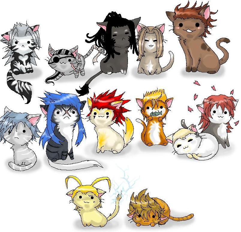 Calendar Organization Xiii : Xiii cats by marth kun on deviantart