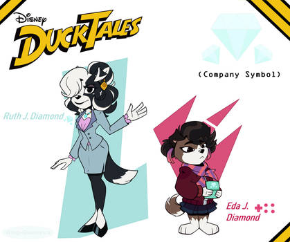 Ducktales OC: Ruth and Eda
