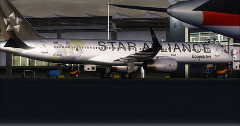 FSX - Equestrian Airlines SA 757 by A42Remedy