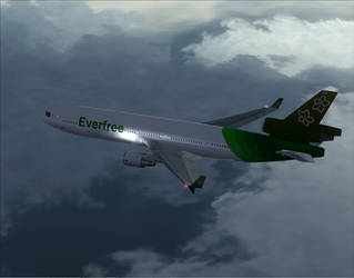 FSX - McDonnell Douglas MD11 Everfree by A42Remedy