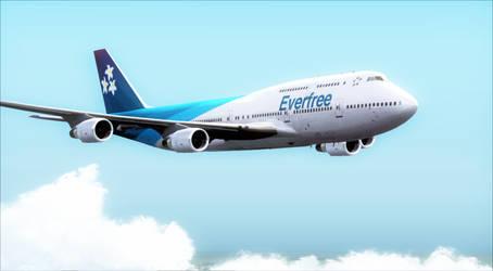 Flight Simulator X - Boeing 747-400 Everfree by A42Remedy
