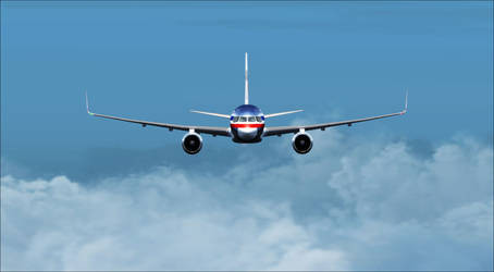 FSX - American Airlines B752WL by A42Remedy