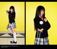 Cosplay: Gogo Yubari by lonelymiracle
