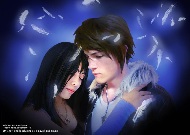 Collab: Squall and Rinoa by lonelymiracle
