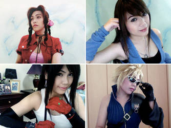 Final Fantasy Webcam Cosplay by lonelymiracle