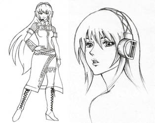 Luka Sketches by lonelymiracle