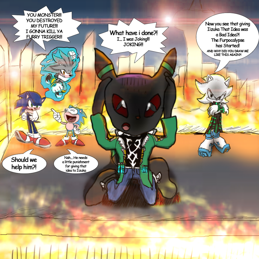 More Sonic Forces Shenanigans by Kira-SR