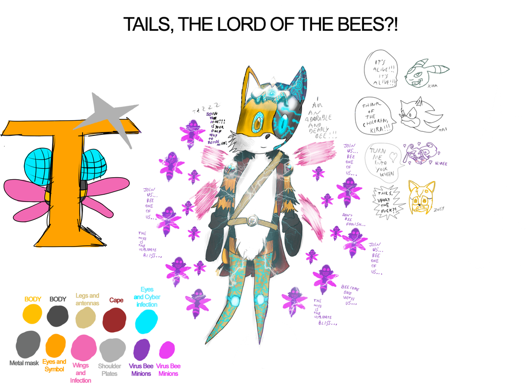 Tails - Lord of the Bees?! by Kira-SR