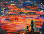 Sunset On Kallavesi by Peeshan