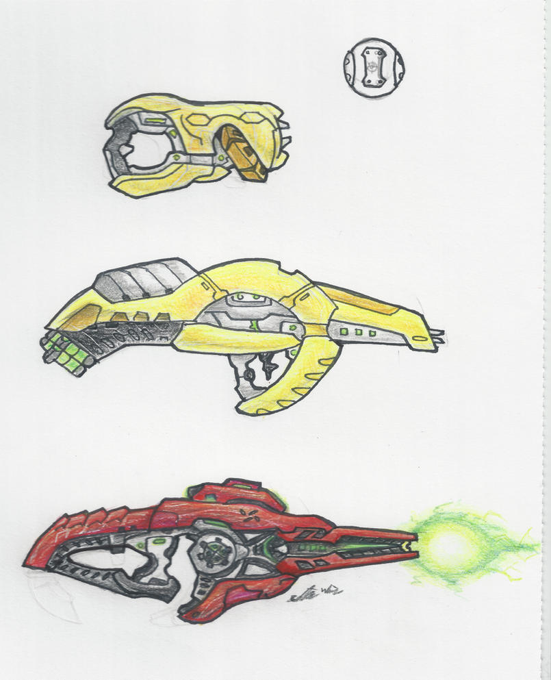 Halo - Covenant Weapons 2 by ninboy01 on DeviantArt