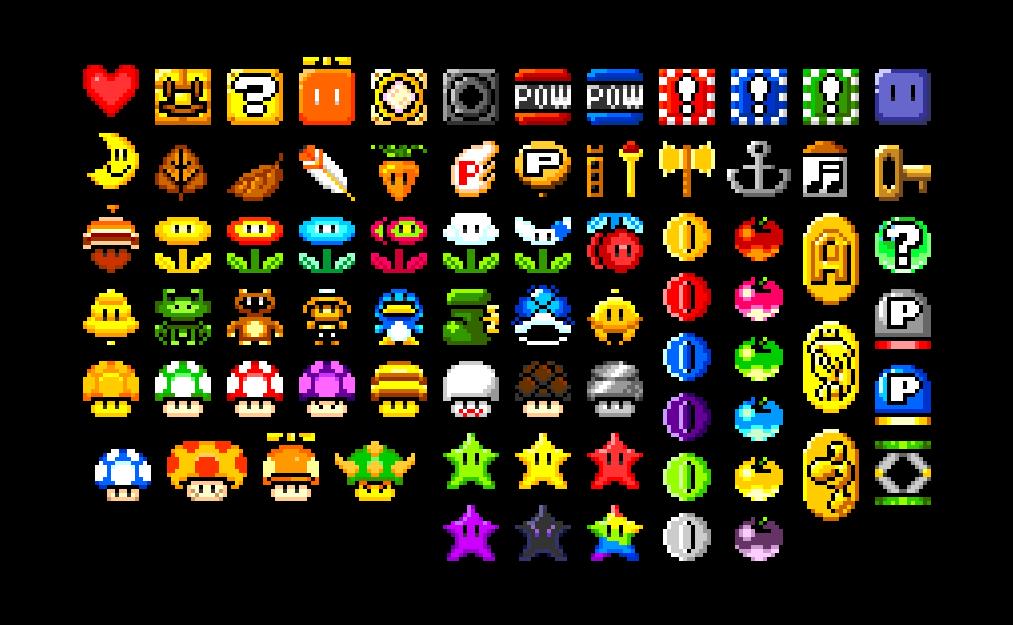 Mario Bros Item Sheet By Ninboy01 On Deviantart