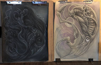 2019 works in progress by deadanna
