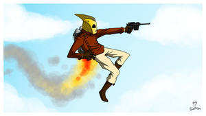 THE ROCKETEER...