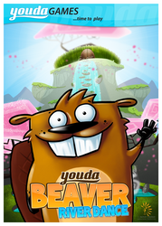 Youda Beaver: River dance by ferwar