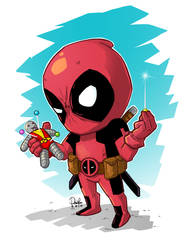 Deadpool by ferwar