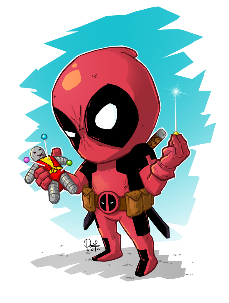 Deadpool by ferwar