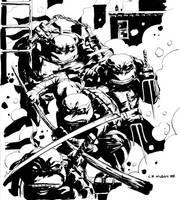 Teenage Mutant Ninja Turtles by CP Wilson III by AshcanAllstars